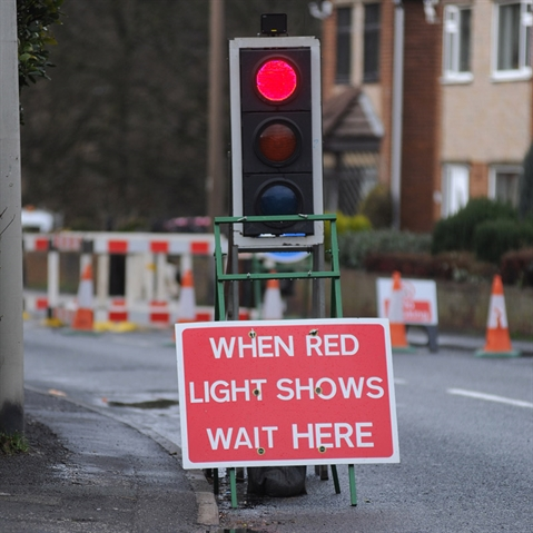 Upper Haugh roadworks to be in place for five extra days
