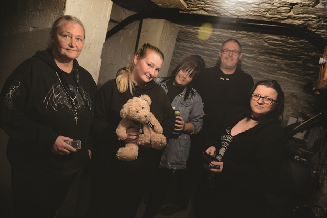 Ghost hunters find plenty to hear at former Maltby pub
