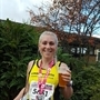 Kimberworth London Marathon runner Natalie needs help to get to the line