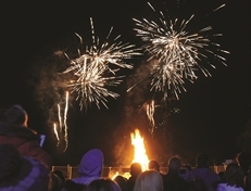 Free bonfire event in Clifton Park