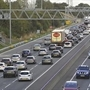 M1 motorway closed near Aston after accident