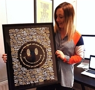 Artist Amy sells work to Fatboy Slim