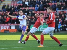 MATCH REPORT: Millers bumped out of FA Cup at Crewe