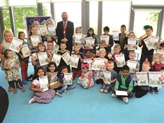 Rewards for Rawmarsh's young reading agents