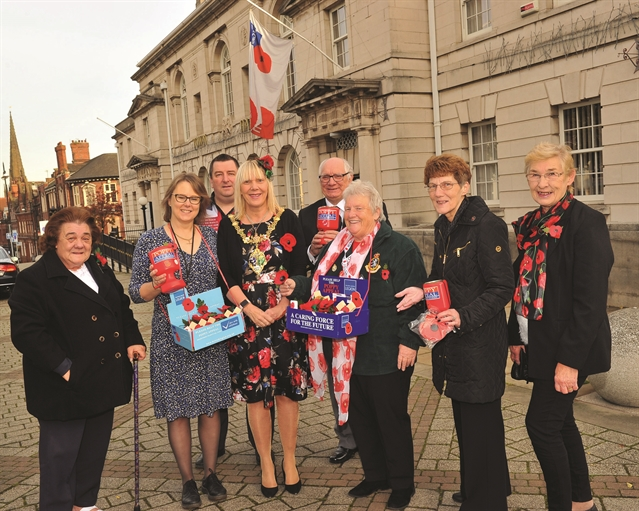Praise for 'generous' Rotherham Poppy Appeal supporters