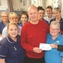 Rare cancer sufferer Steven raises £1,500 for Rotherham hospital charity
