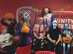 Sports trust lays on spooky special event