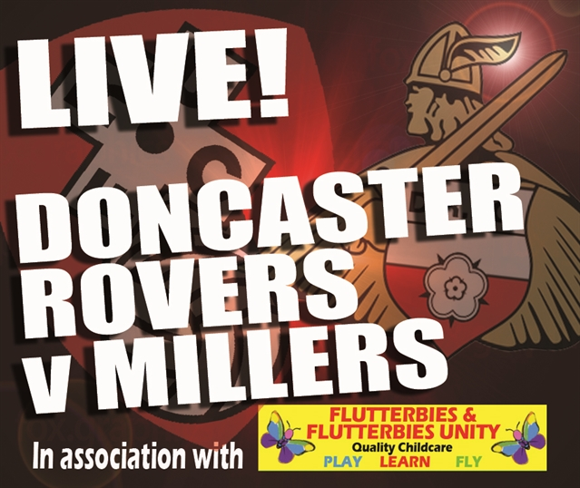 MATCHDAY LIVE: Doncaster Rovers v Rotherham United