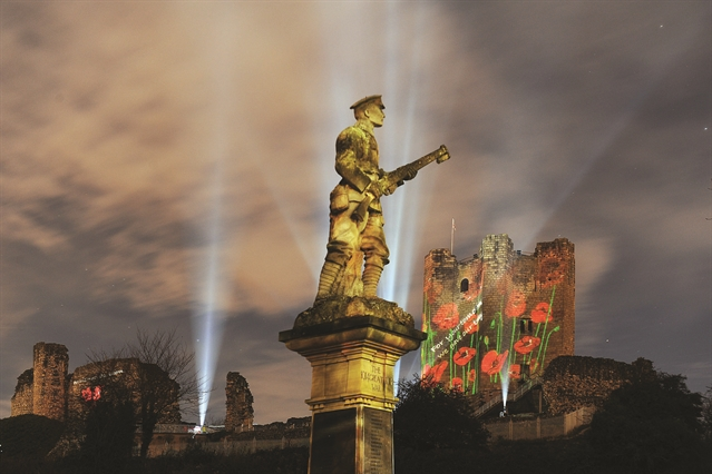 Stunning poppy display to light up Conisbrough Castle once again