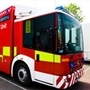 Golf buggy blaze in Aston