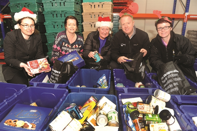 Christmas food appeal for Rotherham's needy under way