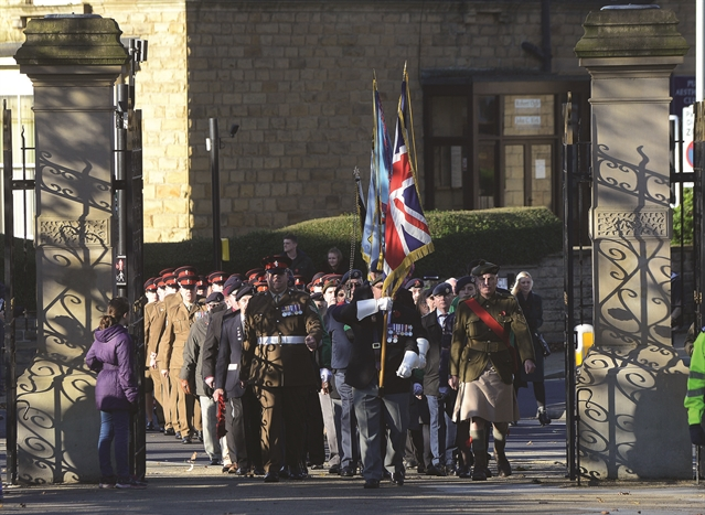PHOTO GALLERY: Rotherham falls silent to remember the fallen