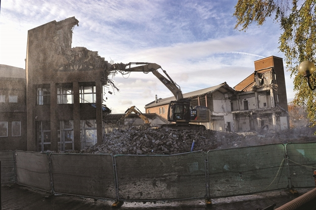 Rotherham law courts demolition gathers pace