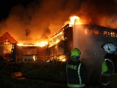 Firefighters to return to scene of Dalton blaze to launch investigation