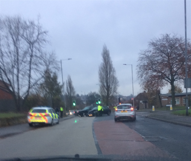 Rawmarsh crash causing long delays across Rotherham