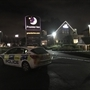 Police cordon off part of Rotherham hotel car park