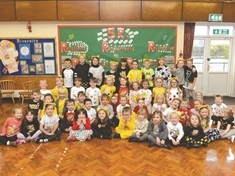 Youngsters and workplaces 'do their thing' for Children in Need