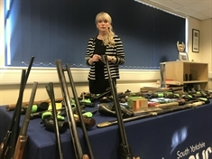 200 weapons handed in during police gun and knife amnesty