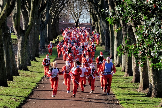Santa to arrive in style at hospice festive fun run