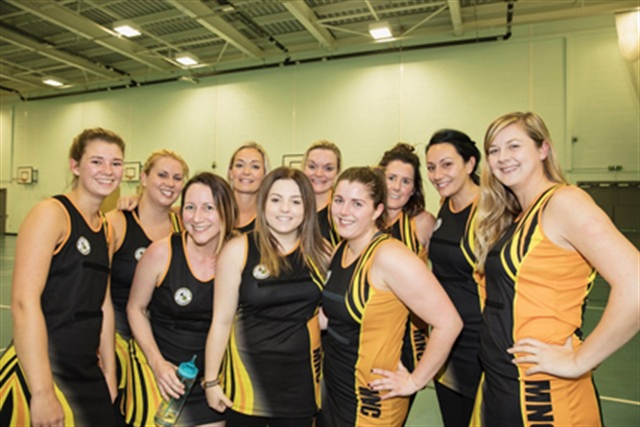 Hoops of delight for netball champions