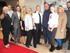 Firefighter and volunteers honoured at Local Heroes Awards