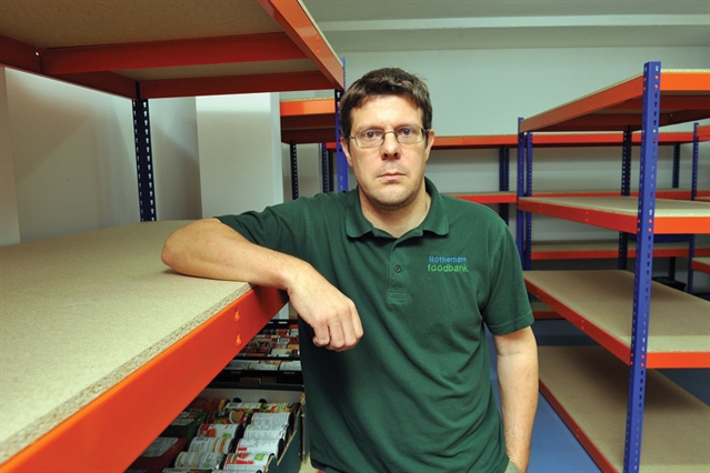 An item a day will help Rotherham Foodbank hit Christmas supply target
