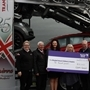 Hospice's £10,000 boost from Rotherham vehicle transport company