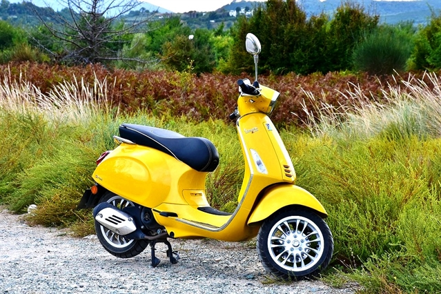 Hoping for a scooter this Christmas? Protect it from thieves