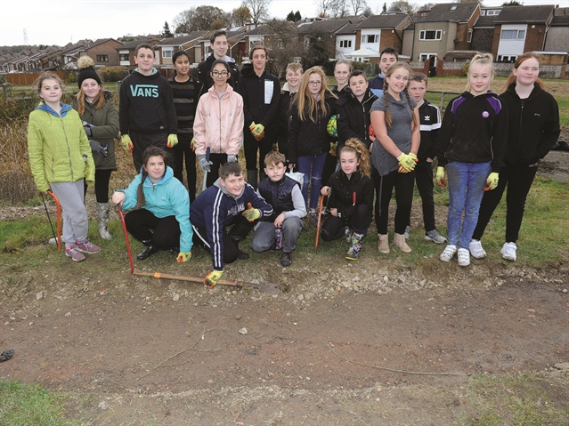 Winterhill pupils' work helps bring pond back to life