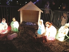Shock after baby Jesus is pinched from Whiston village nativity scene