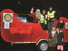 Where to see Santa's sleigh on tour in Rotherham