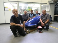 International forces bobsleigh team sled fixed in Rotherham