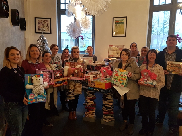 Collection makes Christmas more beautiful for children