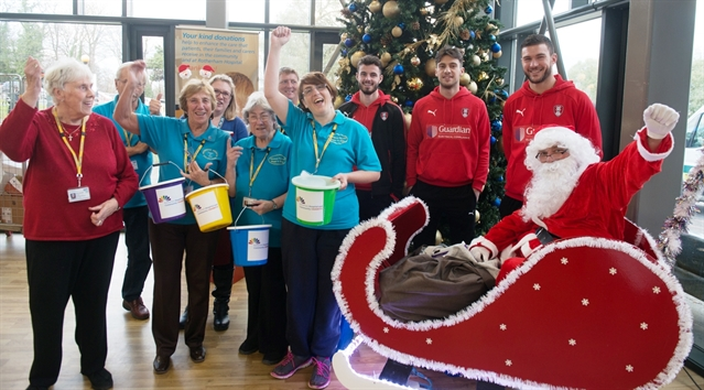 Hospital Christmas fair raises more than £800 to improve patients' experiences