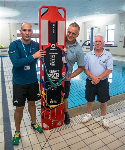 Medical charity donation will speed up patient water rescues