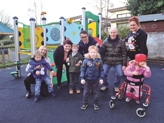 Marathon man Ray Matthews opens his 'fabulous' playground at Newman School