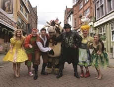 Panto fun for everyone at Rotherham Civic