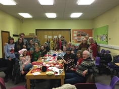 Special guest at Mexborough group's Christmas party