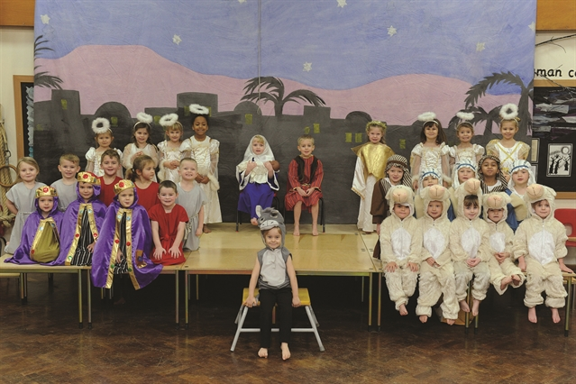 Proud parents enjoy youngsters' nativity productions