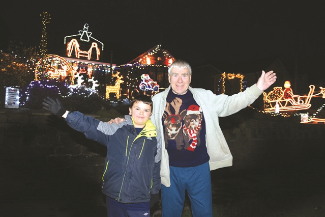 Couple's delight at Christmas fund-raising total