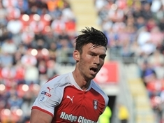 Kieffer Moore's farewell to Rotherham fans