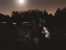 Stargazing special event at Manvers nature reserve