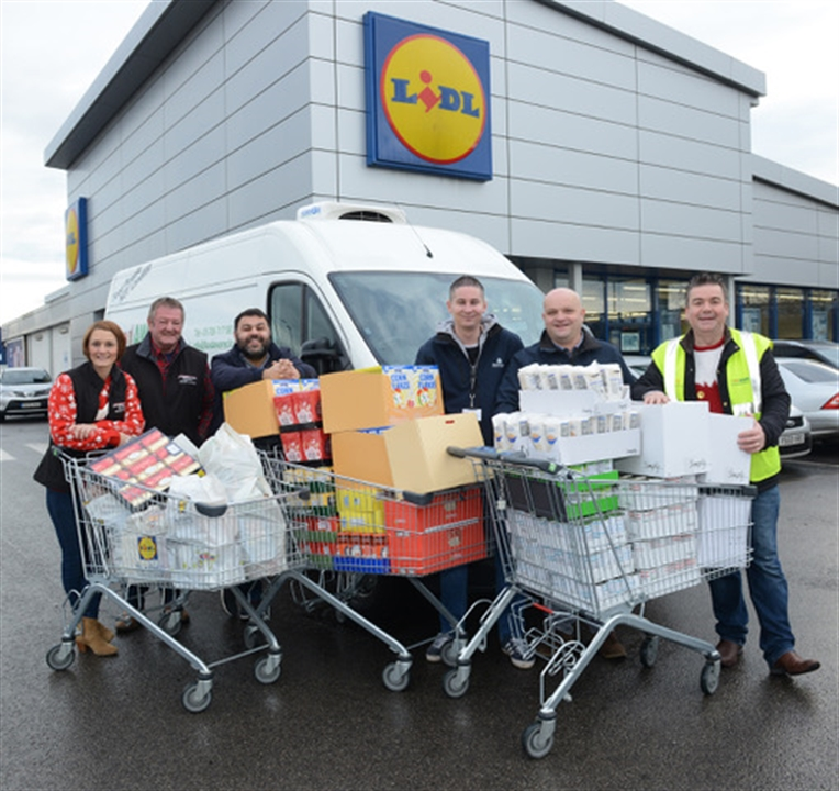 Family boosted by Mexborough businesses' donation