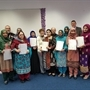 Determined older Rotherham students learn a new language