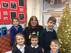 Pupils' send-off for teacher after 38 years