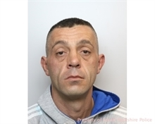 Burglar behind bars for more than two years