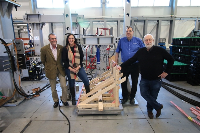 Roof construction safety breakthrough at Rotherham's AMRC