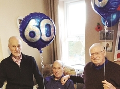 Friendship forged on National Service still going strong 60 years on