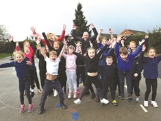 GALLERY: Children around the borough Run a Mile with Ray