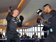 Boxing rivals step up preparations for all-Rotherham showdown